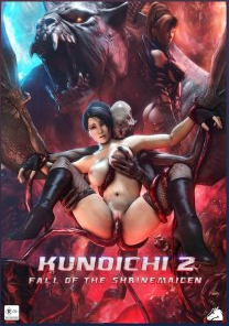 Kunoichi 2 Fall of the Shrinemaiden Uncensored cover